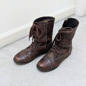Steve Madden   Military Boots